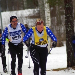 Skiing 90 km - Hans Espling (10973), Elin Espling (18043)