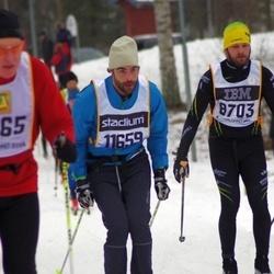 Skiing 90 km - Robin Berggren (8703), David Törnquist (11659)
