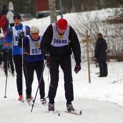 Skiing 90 km - Henrik Rydberg (14449)