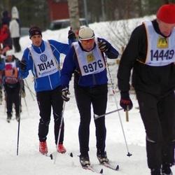 Skiing 90 km - Lennart Klingberg (8976), Aleksander Ekeberg (10144)