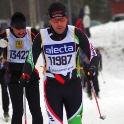 Skiing 90 km - Andre Grossmann (11987), Pavel Purnoch (13422)