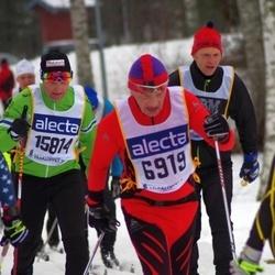 Skiing 90 km - Bength Olof Unga (6919), Espen Jössang (15814)
