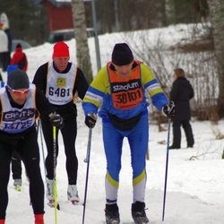 Skiing 90 km - Bosse Johansson (6481), William Nilsson (30101)
