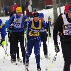 Skiing 90 km - Björn Lothigius (7777)