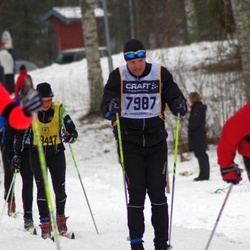 Skiing 90 km - Christian Johansson (7987)