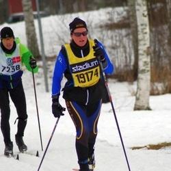 Skiing 90 km - Cathy Huguenin-Dumitan (19174)