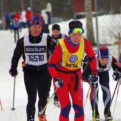 Skiing 90 km - Henrik Sandberg (16510), Gøril Holmvassdal (18112)