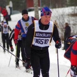 Skiing 90 km - Henrik Sandberg (16510)