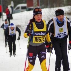 Skiing 90 km - Ari Lauttamus (7615), Heidi Wolfram (18673)