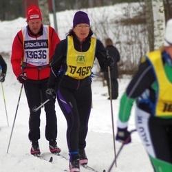 Skiing 90 km - Janne Wikström (13636), Jitka Patkova (17469)