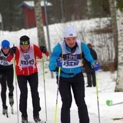 Skiing 90 km - Anders Svensson (10049), Robert Thenander (13310)