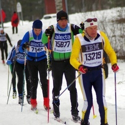 Skiing 90 km - Donato Charrance (13219), Jörg Kaiser (15877)
