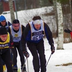 Skiing 90 km - Anders Mellergård (8640)