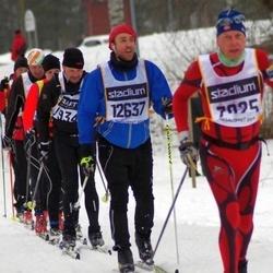 Skiing 90 km - Lennart Lundquist (7025), Aleksander Brekke (12637)