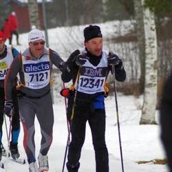 Skiing 90 km - Frank Mattsson (7121), Erik Timner (12341)