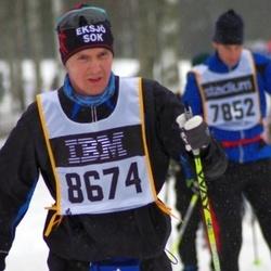 Skiing 90 km - Janne Hurtig (8674)