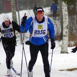 Skiing 90 km - Jarl Hovden (8936)