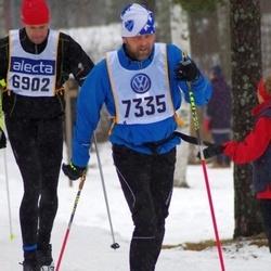 Skiing 90 km - Andreas Höijer (6902), Björn Skårman (7335)