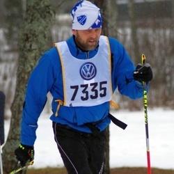 Skiing 90 km - Björn Skårman (7335)