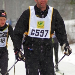 Skiing 90 km - Christer Olsson (6597)