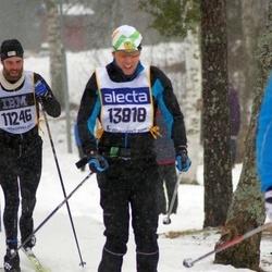 Skiing 90 km - Per Lidestedt (11246), Daniel Gustavsson (13818)