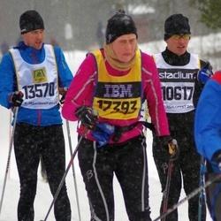 Skiing 90 km - Henrik Dennbrink (10617), Johan Gull (13570)