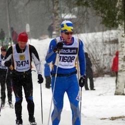 Skiing 90 km - Fredrik Follin (11608), Daniel Kuna (16474)