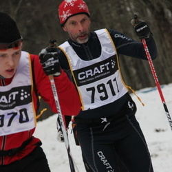 Skiing 90 km - Jan-Peter Magnusson (7911)
