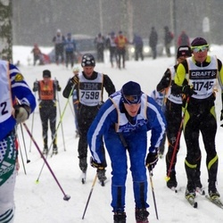 Skiing 90 km - Henrik Eriksson (7598), Stefan Eich (11745)