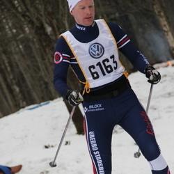 Skiing 90 km - Daniel Jenefeldt (6163)