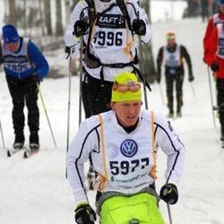 Skiing 90 km - Peter Rejler (4996), Aron Andersson (5977)