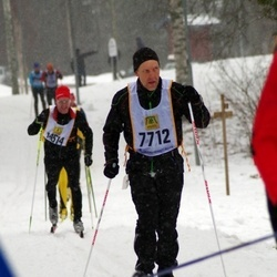 Skiing 90 km - Henrik Larsen (7712)