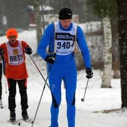 Skiing 90 km - Dan Hägglund (8839), Daniel Cadei (9404)