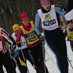 Skiing 90 km - Fredrik Wernersson (16200), Johanna Peterson (18292)