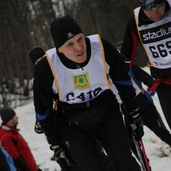 Skiing 90 km - Etko Väli (6418)