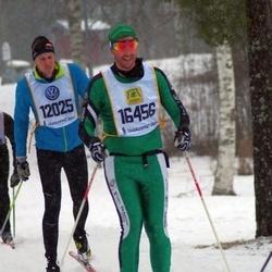 Skiing 90 km - Erik Hamren (12025), Henrik Andersson (16456)