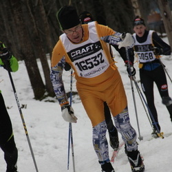 Skiing 90 km - Aimo Taljavirta (16532)