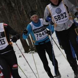 Skiing 90 km - Henrik Rundcrantz (5892), Sören Levinsen (7943)