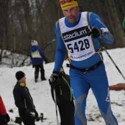 Skiing 90 km - Åke Lindahl (5428)