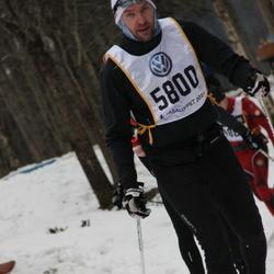 Skiing 90 km - Christer Burst (5800)