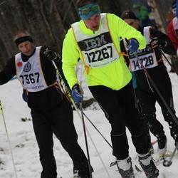 Skiing 90 km - Peter Thunell (7367), Christian Kleihs (12267)