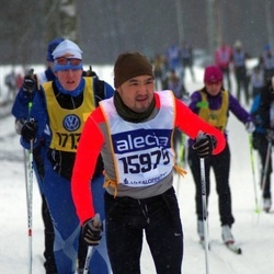 Skiing 90 km - David Kim Möller (15975)