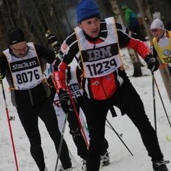 Skiing 90 km - Per-Olof Eliasson (8076), Ales Skoda (11239)