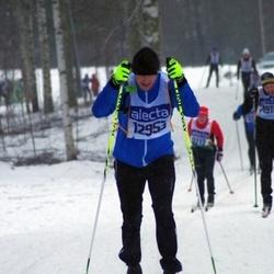 Skiing 90 km - Henrik Esgård (12953)
