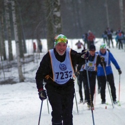 Skiing 90 km - Dieck Gustafsson (7232)