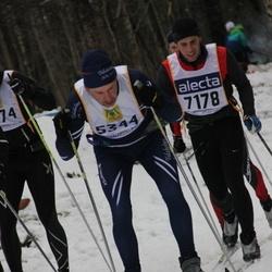 Skiing 90 km - Christer Blomqvist (5344), Jonas Hallberg (7178)