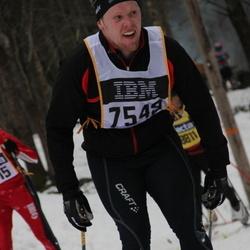 Skiing 90 km - Albert Bäckebjörk (7549)
