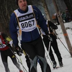Skiing 90 km - Fredrik Ylander (8067)