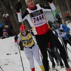 Skiing 90 km - Dick Fredholm (7444)