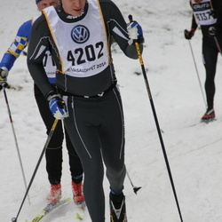 Skiing 90 km - Björn Evers (4202)
